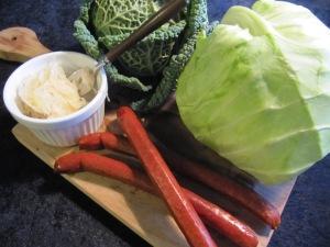 Lammkorv och kål