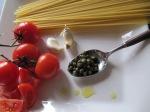 Kapris, tomat, vitlök