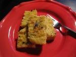 Grillad polenta med gorgonzola